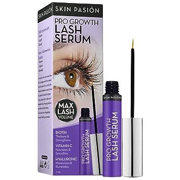 8db5a7fd9b1 Amazon.com: Skin Pasión Intense Lash Volumizing Serum, 0.25 Fluid Ounce:  Beauty