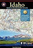 Idaho Road and Recreation Atlas (Benchmark Maps: Idaho) Paperback – March 1, 2014
