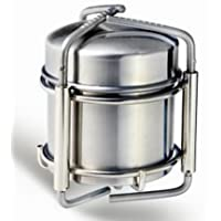 Survival Brass Portable Cooking Camping Alcohol Burner Stove w// Flame Regulator