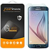 [2-Pack] Supershieldz for Samsung Galaxy S6 Tempered Glass Screen Protector, Anti-Scratch, Anti-Fingerprint, Bubble Free, Lifetime Replacement Warranty