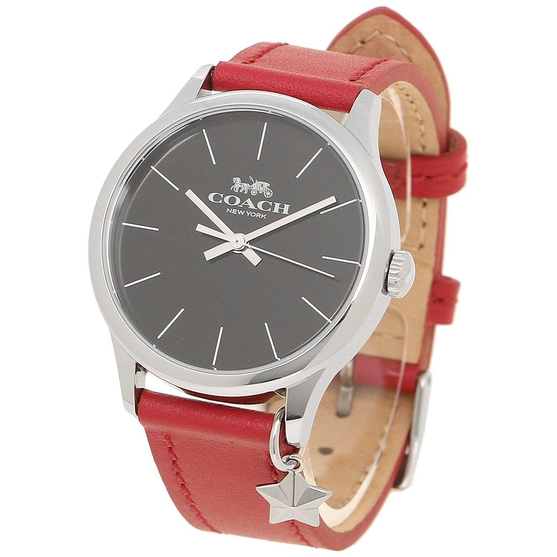 8899065a7bfe Amazon   [コーチ] 腕時計 レディース アウトレット COACH W1549 RD/BK レッド ブラック シルバー [並行輸入品]   並行 輸入品・逆輸入品・中古品(レディース) ...