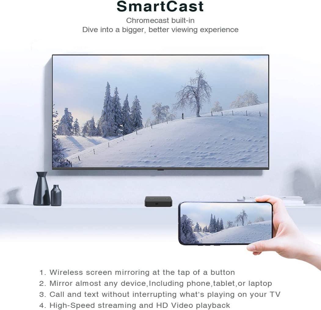 Mini NEO T5 Android 9.0 TV Box, Amlogic S905X2 2G 16G Chromecast Smart TV Box 4K Ultra HD Android 9.0 Pie Media Hub: Amazon.es: Electrónica