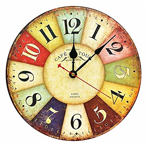 Decorative Wall Clocks For Living Room: Amazon.com