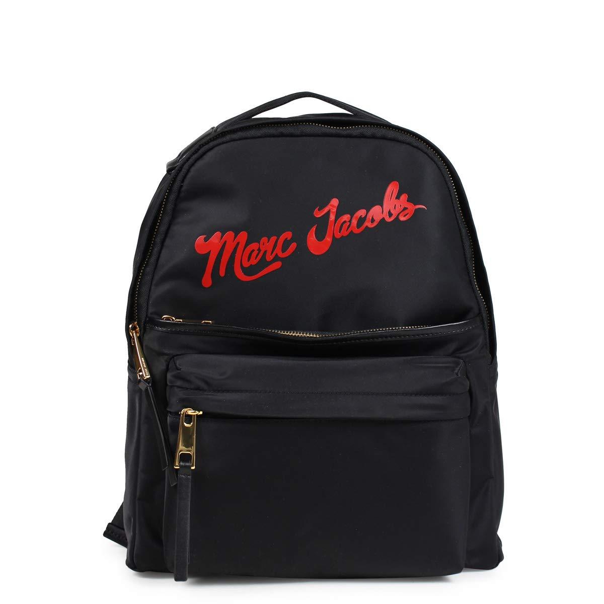 マーク ジェイコブス NYLON LARGE BACKPACK リュック バッグ バックパック M0014161 ユニセックス (並行輸入品) B07MZP95MJ ブラック