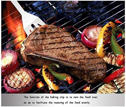 21 Pcs BBQ Grill Outils Set, Barbecue en Acier Inoxydable Griller Accessoires Set avec Sac Portable pour Camping/Cuisine, Idéal Barbecue Accessoires Cadeaux