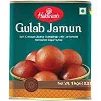 Haldiram's Gulab Jamun 1 kg Tin,