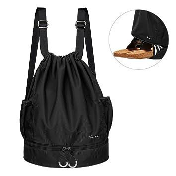 Ryaco Mochila de Cuerda Unisex, Saco de Gimnasia para Deporte Gimnasio Yoga Nadar