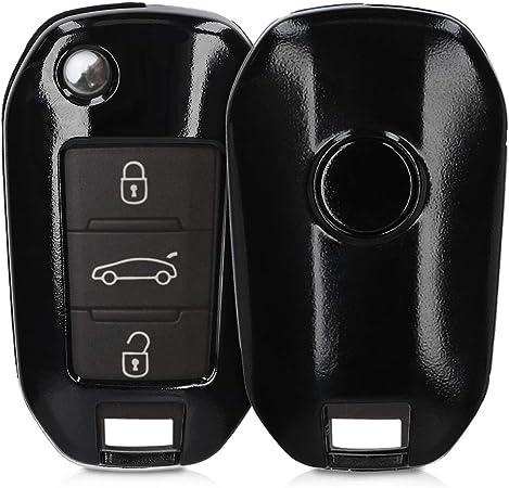Kwmobile Autoschlüssel Hülle Kompatibel Mit Peugeot Elektronik