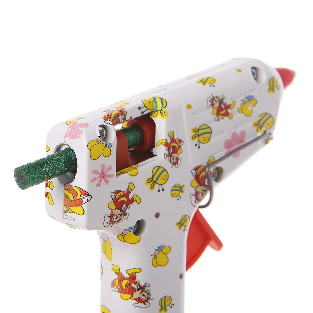 Lila Mentin 25st/ück farbige Klebesticks Hei/ßkleber Klebestifte in 11 verschiede Farben 7mm x 100mm Geeignet f/ür g/ängige Hei/ßklebepistolen 7MM