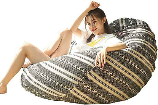 Bean Bag Bean Bag Sofa Chair Cover for Children Indoor//Youth Relaxing high Back Game Bean Bag Cover Cloth Cover Teenagers and Adults
