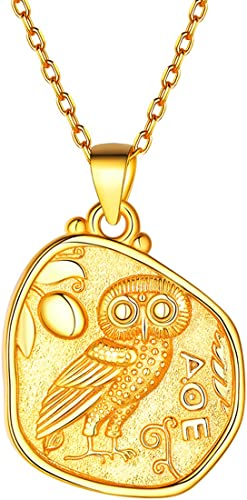 Owl unique engraved ceramic pendant minimalist boho ethnic gift for her,inspired from ancient greek minoan sealstone of Greek civilization