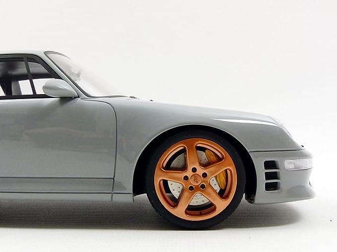 Amazon.com: GT Spirit – Porsche Ruf Turbo R 1998, GT145 Miniature Vehicle, Scale 1/18 Grey: Toys & Games