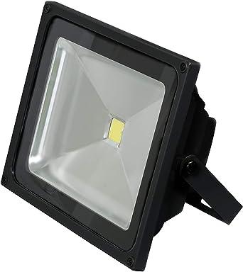 Foco LED 50W IP65 Foco Exterior Resistente al Agua Luz Focos Foco ...