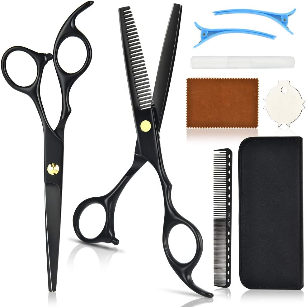 Professional Hairdressing Scissors Set WAS £27.49 NOW £13.75 w/code QL7WUVR6 @ Amazon