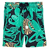 Vilebrequin Octopussy ET Coquillages Swim Shorts - Boys - Navy - 4Yrs