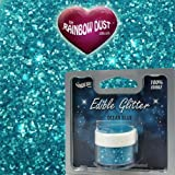 Rainbow Dust Edible Glitter Ocean Blue by Rainbow Dust