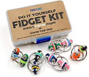 DIY Fidget Kit by FIDGETLAND | As Seen on Shark Tank | ADD/ADHD, Stress, Anxiety, Adults, Kids, School & Office | Stephie
