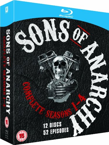 Sons of Anarchy Blu-ray Set: Complete Season 1-4