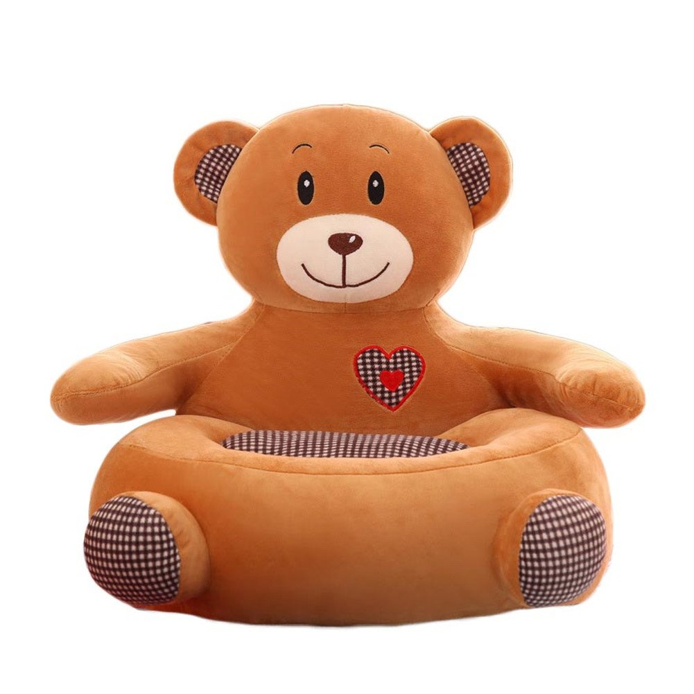 Fabulous O Toys Baby Chairs Siting Learning Infant Seat Toddlers Plush Stuffed Animal Pillow Cushion Sofa For Kids 2 8 Years Brown Bear Pabps2019 Chair Design Images Pabps2019Com