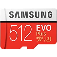 Samsung Micro SD 512GB EVO Plus/W Adapter