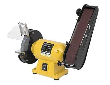 Strange Powerplus 240W 2 In 1 Bench Grinder Belt Sander Powx1270 Short Links Chair Design For Home Short Linksinfo