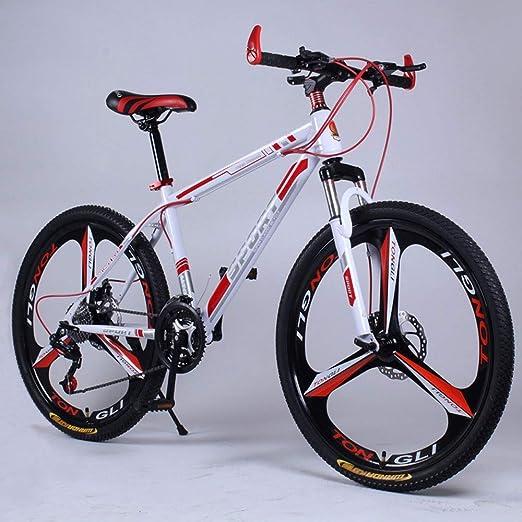YXWJ 24 pulgadas 26 pulgadas unisex de bicicletas de montaña duro ...