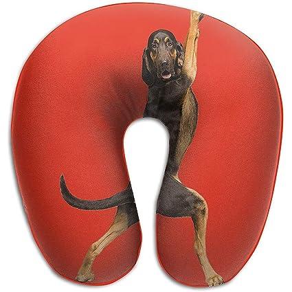 Cojín en Forma de U,Yoga Perros Almohadas Suave Portátil ...