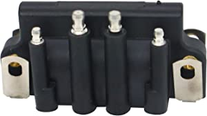 18-5170 183-3740 583298 879614 Dual Spark Plug Ignition Coil 583740 0583740 Fits for Johnson Evinrude OMC