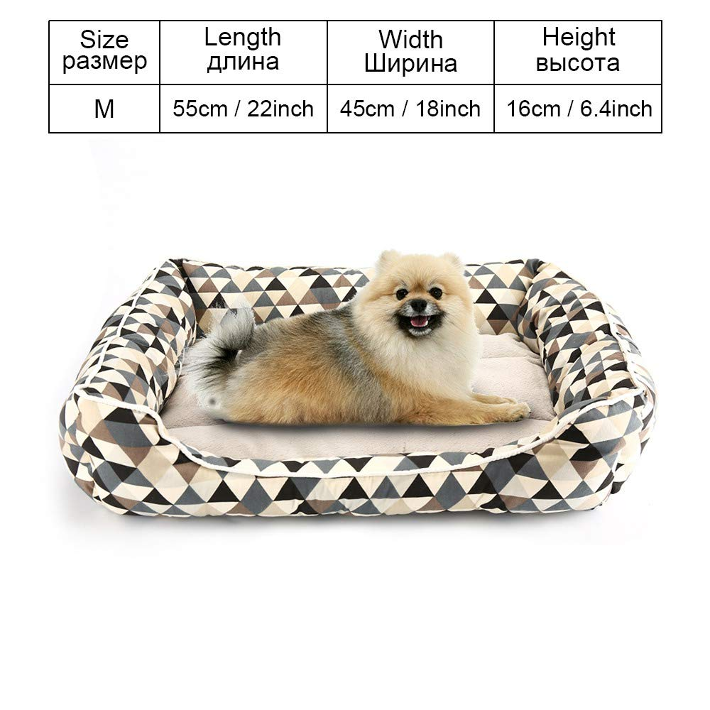 COO025-M As pictures COO025-M As pictures Cookisn Dog Bed Sofa Pet Bed Mats for Small Medium Large Dogs Cats Kitten House for Cat Puppy Dog Beds Mat Bench Pet Kennel Pet Products COO025-M