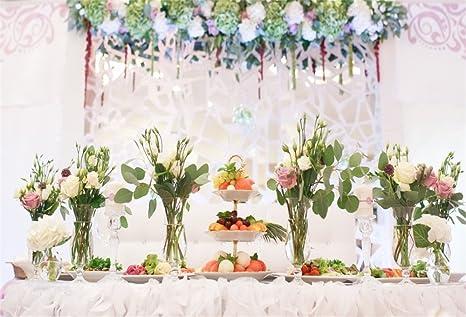 Amazon Ofila Wedding Ceremony Backdrop 10x65ft Bokeh