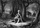 Posterazzi Vintage Revolutionary War General George Washington Praying at Valley Forge. Poster Print (16 x 11)