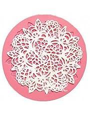 Fliyeong Stockton Molde de Pastel de Silicona Fondant Molde DIY pastelería decoración Pastel Galleta (Forma