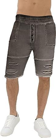 trueprodigy Casual Hombre Marca Jogger Pantalon Basico Ropa Retro Vintage Rock Vestir Moda Vintage Deportivo Slim Fit Designer Fashion Pantalones Cortos