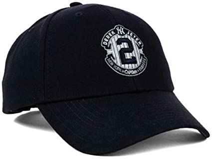 Image Unavailable. Image not available for. Color  MLB DEREK JETER 47 HAT  CAP NEW YORK ... b2ee6b70682