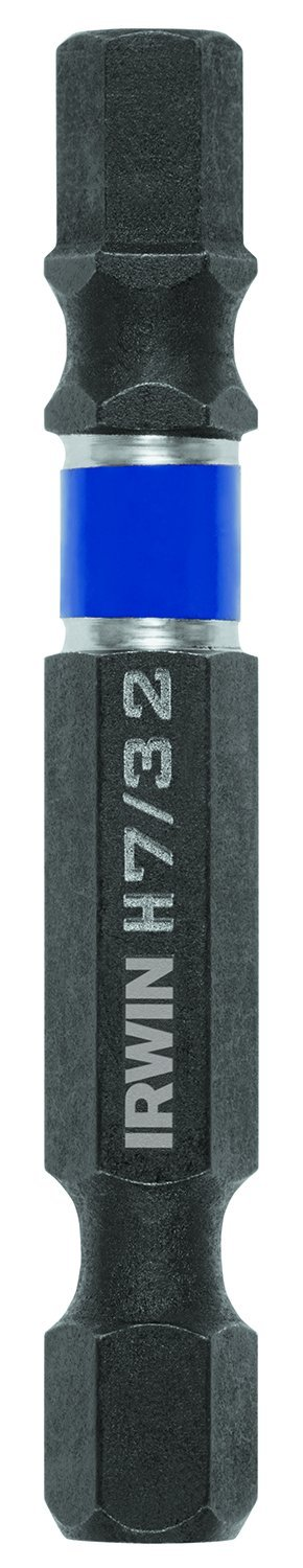 IRWIN Tools 1899973 Impact Performance Series Screwdriver Power Bits, 7/32-Inch Hex, 2-Inch Length, 10-Pack