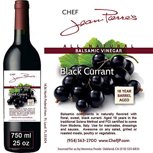 Black Currant Barrel Aged 18 Years Italian Balsamic Vinegar 100% Natural (750ml)