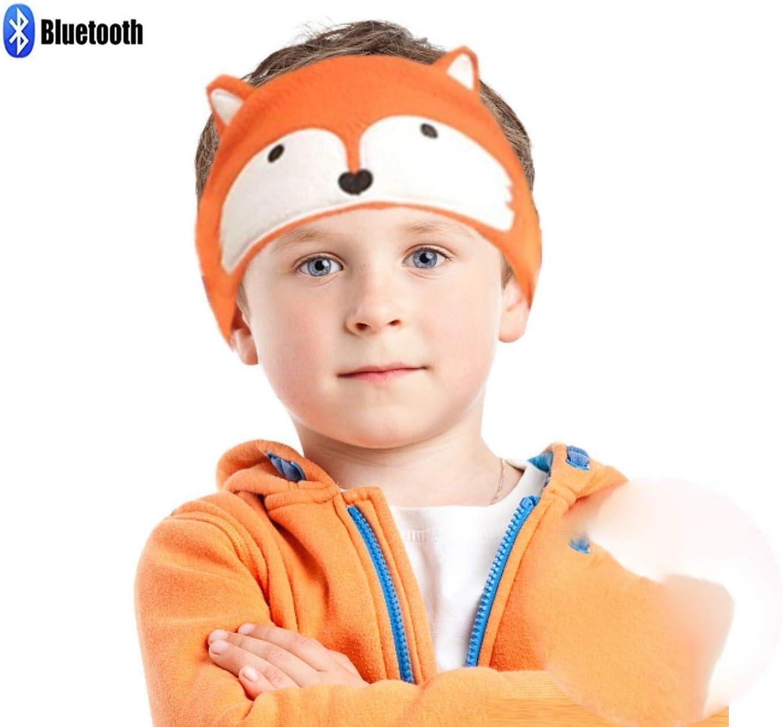 Amazon Com Charlxee Kids Bluetooth Headphones Children Girls Boys Teens Volume Limiting Foldable And Durable Headphone Headband For School Home And Travel Orange Fox Home Audio Theater