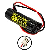 XML Battery 1.2v 900mAh Unitech AA900mAh AA BST DAA900BT D-AA900BT Ni-CD Rechargeable Battery Pack Replacement for Exit…