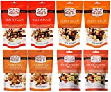 Creative Snacks Variety Pack 4 Flavours (2 Brain Food, 2 Heart Smart, 2 After School, 2 Campfire Crunch) 3.5 oz/8 bags