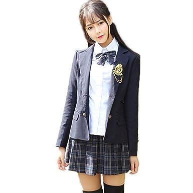 8ba4021a39502 Kayaa 卒業式 スーツ 女の子 子供スーツ フォーマル 正統派ガールズ スカートスーツ 5点セット