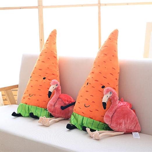 Amazon.es: Missley Flamingo juguete de peluche de juguete de peluche (23.62/60CM, Carrot): Juguetes y juegos
