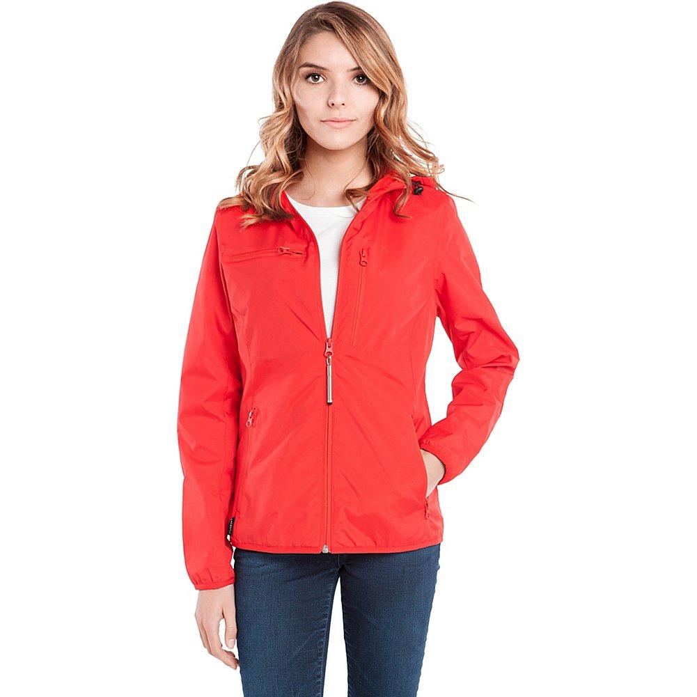 Baubax Travel Jacket - Windbreaker - Female - Red - Small