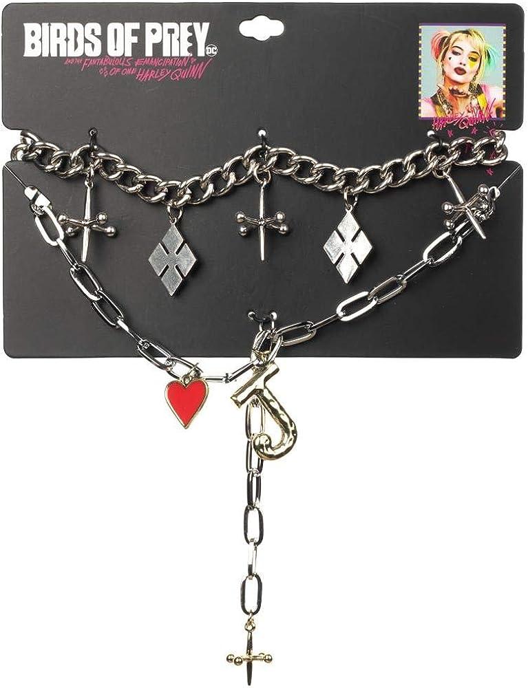 Amazon Com Birds Of Prey Jacks Choker Love Joker Necklaces 2 Pack Clothing