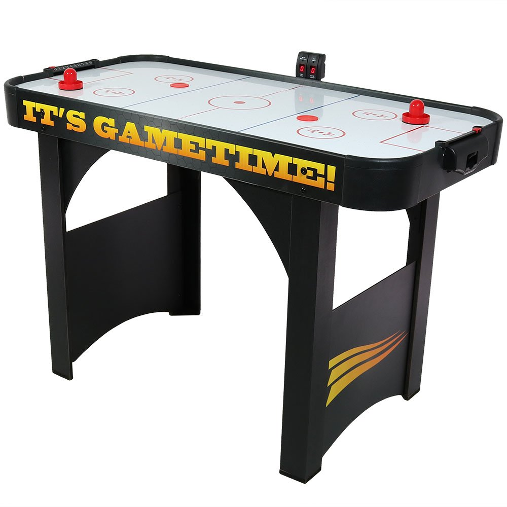 Sunnydaze 48 Inch Air Hockey Table with Scorer by Sunnydaze Decor