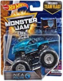 Hot Wheels Monster Jam NEA Police Blue with Team Flag 1:64 Scale Tour Favorites 2/10