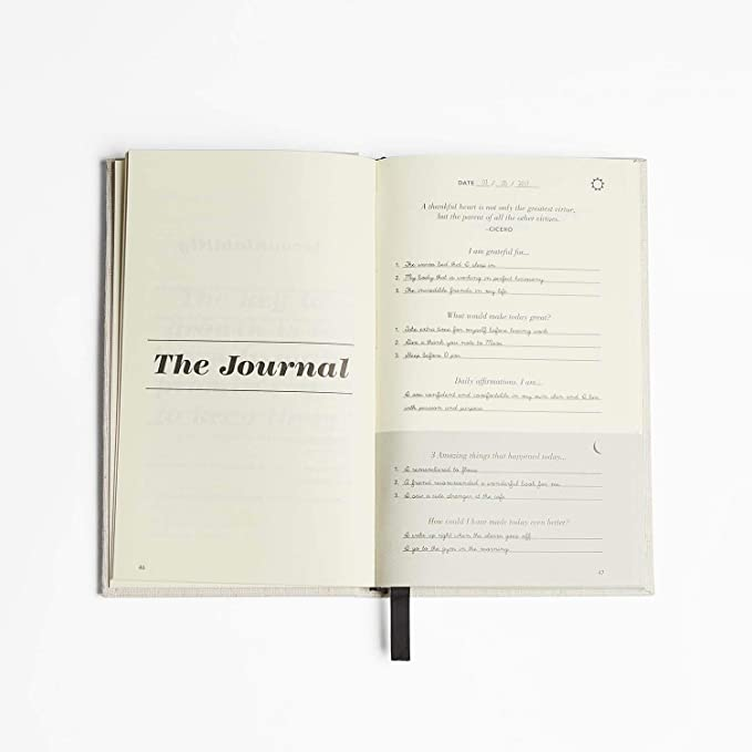 Amazon com : The Five Minute Journal: A Happier You in 5
