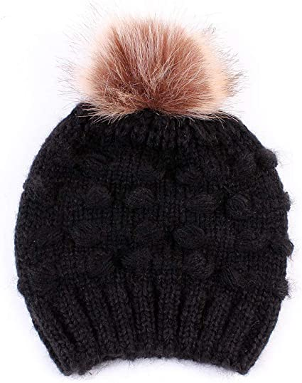 Toddler Kids Girl/&Boy Baby Infant Winter Warm Crochet Knit Hat Beanie Cap Winter