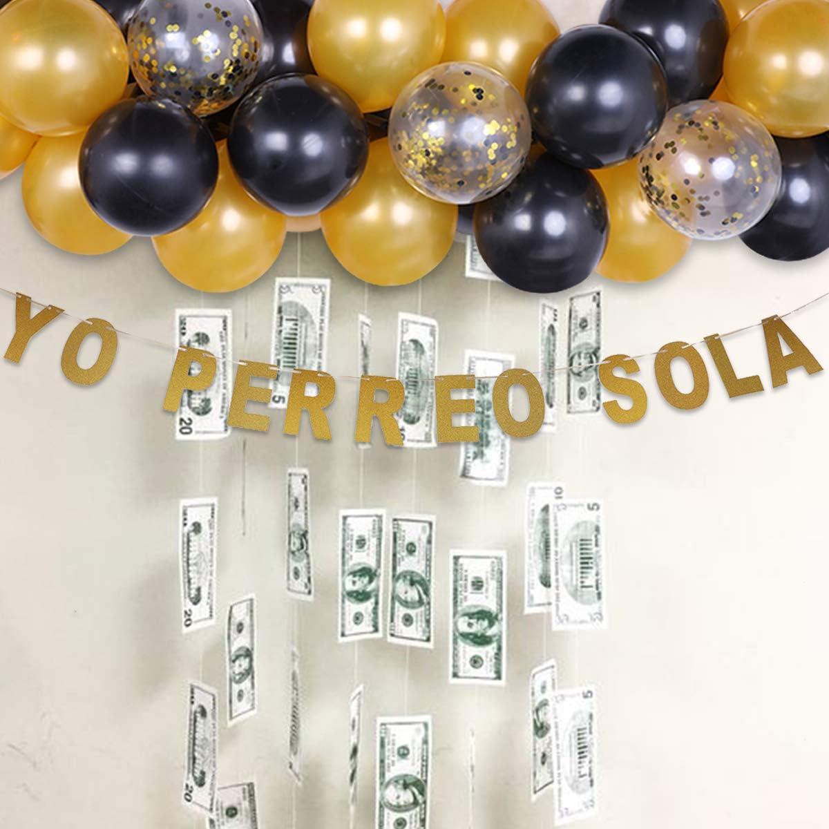 Conejo Malo  Party Decorations Bad Bunny Party Decorations Bad Bunny Party Supplies customized Yo Perreo Sola banner Bad Bunny Balloons