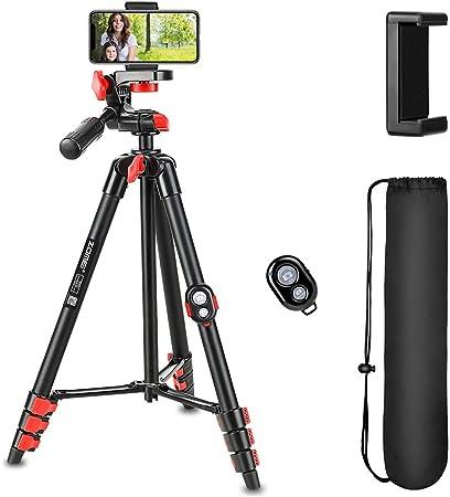 Stativ Zomei T70 136cm Aluminium Flexible Kompakte Kamera