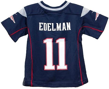 factory authentic 224d1 7396b Amazon.com : Nike Julian Edelman New England Patriots Team ...